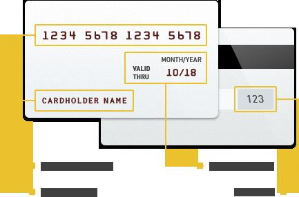 Оплата и возврат через банковскую карту