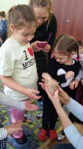 встреча с животными в детском центре наши дети в Марьино (103)