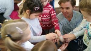 встреча с животными в детском центре наши дети в Марьино (110)