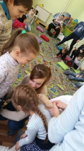 встреча с животными в детском центре наши дети в Марьино (112)