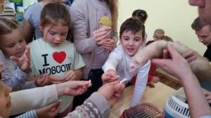 встреча с животными в детском центре наши дети в Марьино (114)