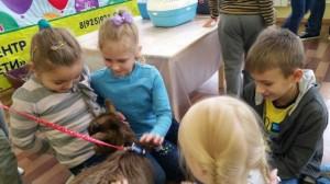 встреча с животными в детском центре наши дети в Марьино (117)