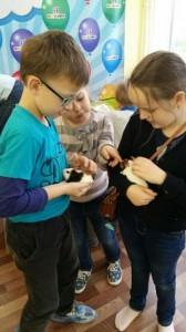 встреча с животными в детском центре наши дети в Марьино (119)