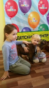 встреча с животными в детском центре наши дети в Марьино (120)