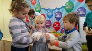 встреча с животными в детском центре наши дети в Марьино (122)