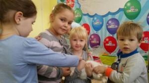 встреча с животными в детском центре наши дети в Марьино (127)