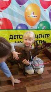 встреча с животными в детском центре наши дети в Марьино (131)