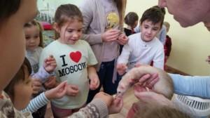 встреча с животными в детском центре наши дети в Марьино (138)