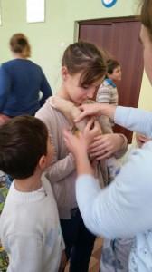 встреча с животными в детском центре наши дети в Марьино (140)
