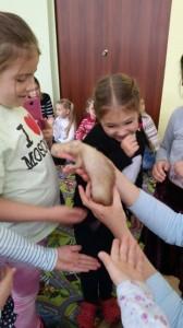 встреча с животными в детском центре наши дети в Марьино (145)