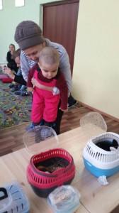 встреча с животными в детском центре наши дети в Марьино (2)