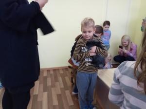 встреча с животными в детском центре наши дети в Марьино (21)