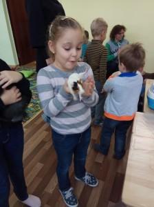 встреча с животными в детском центре наши дети в Марьино (22)