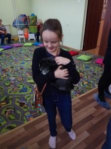 встреча с животными в детском центре наши дети в Марьино (23)
