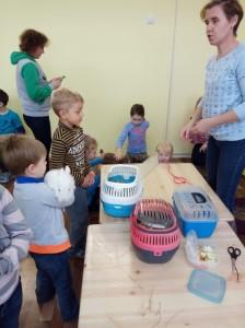 встреча с животными в детском центре наши дети в Марьино (24)