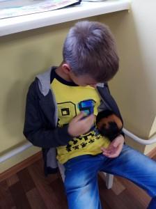 встреча с животными в детском центре наши дети в Марьино (25)