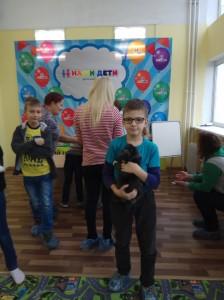 встреча с животными в детском центре наши дети в Марьино (27)