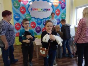 встреча с животными в детском центре наши дети в Марьино (28)