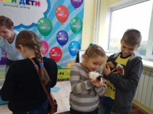встреча с животными в детском центре наши дети в Марьино (31)