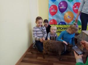 встреча с животными в детском центре наши дети в Марьино (35)