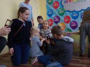 встреча с животными в детском центре наши дети в Марьино (39)