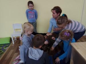 встреча с животными в детском центре наши дети в Марьино (40)