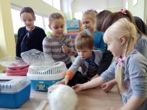 встреча с животными в детском центре наши дети в Марьино (46)