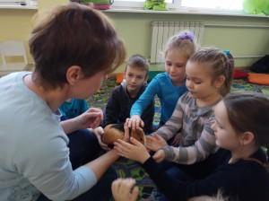 встреча с животными в детском центре наши дети в Марьино (55)