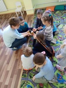 встреча с животными в детском центре наши дети в Марьино (56)
