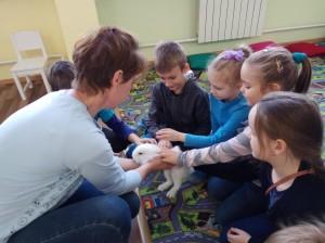 встреча с животными в детском центре наши дети в Марьино (58)