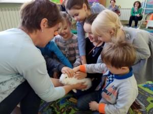 встреча с животными в детском центре наши дети в Марьино (59)
