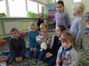 встреча с животными в детском центре наши дети в Марьино (60)