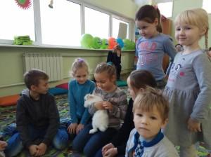 встреча с животными в детском центре наши дети в Марьино (61)
