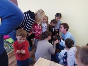 встреча с животными в детском центре наши дети в Марьино (71)