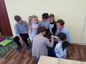 встреча с животными в детском центре наши дети в Марьино (72)