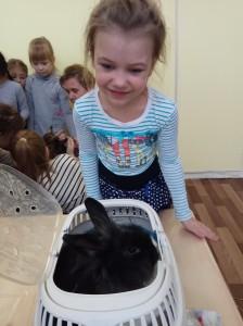 встреча с животными в детском центре наши дети в Марьино (73)