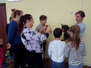 встреча с животными в детском центре наши дети в Марьино (75)