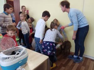 встреча с животными в детском центре наши дети в Марьино (76)