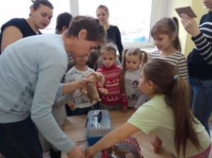 встреча с животными в детском центре наши дети в Марьино (78)