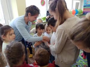 встреча с животными в детском центре наши дети в Марьино (80)