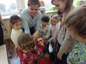встреча с животными в детском центре наши дети в Марьино (81)