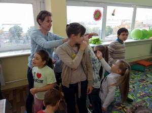 встреча с животными в детском центре наши дети в Марьино (82)
