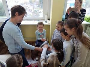 встреча с животными в детском центре наши дети в Марьино (83)