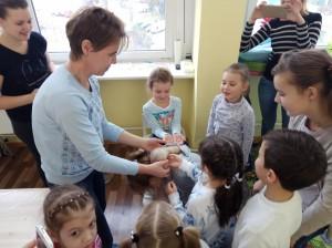 встреча с животными в детском центре наши дети в Марьино (84)