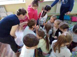 встреча с животными в детском центре наши дети в Марьино (90)