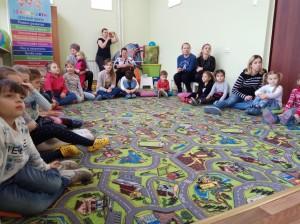встреча с животными в детском центре наши дети в Марьино (92)