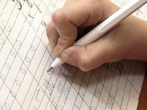 красивый почерк каллиграфия марьино
