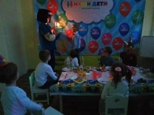 праздник день рождения детский центр наши дети марьино (13)