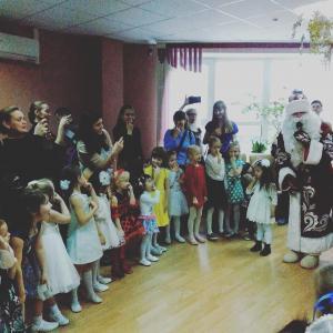 новый год праздник детский центр наши дети марьино2