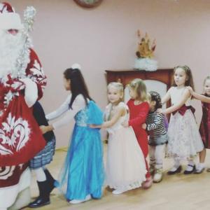 новый год праздник детский центр наши дети марьино4